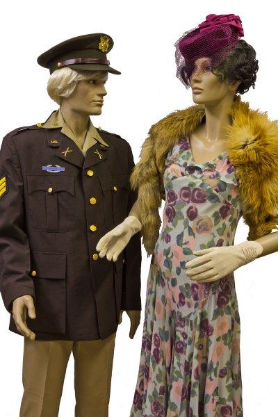 WWII GI and Girlfriend