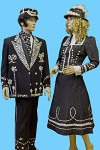 Pearly King and Queen fancy dress