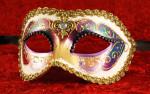 Multi-coloured Venetian Masks